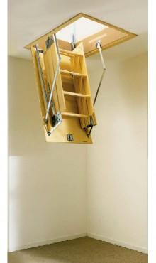 Exemple de utilizare Scari retractabile din lemn GEOCOM TRADING&CONSULTING - Poza 3