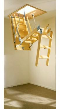 Exemple de utilizare Scari retractabile din lemn GEOCOM TRADING&CONSULTING - Poza 4