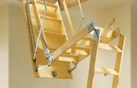 Scari retractabile pentru acces la terase, poduri si mansarde GEOCOM TRADING&CONSULTING