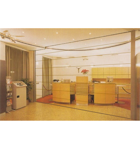 Pereti mobili cu glisare pe verticala ESTFELLER - Poza 2
