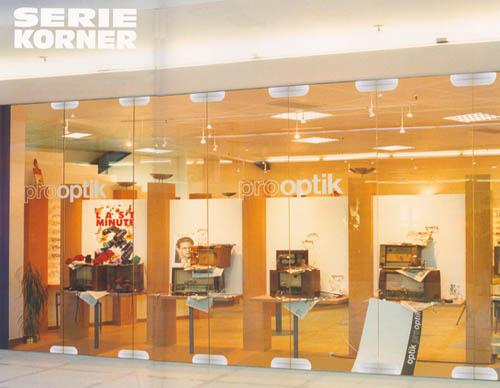 Pereti mobili transparenti, din cristal, cu glisare pe orizontala ESTFELLER - Poza 1