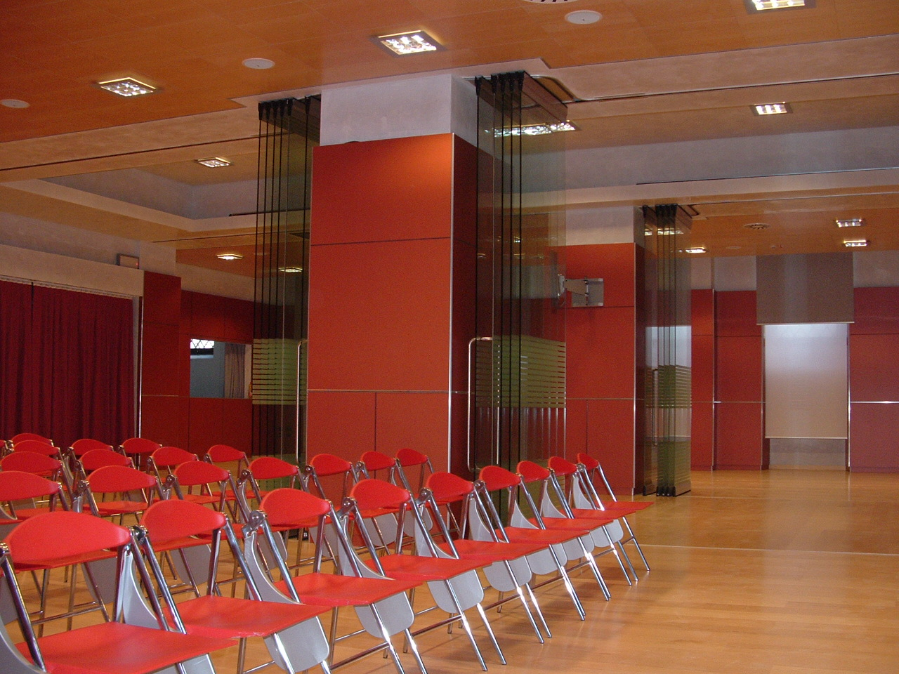 Pereti mobili transparenti, din cristal, cu glisare pe orizontala ESTFELLER - Poza 2