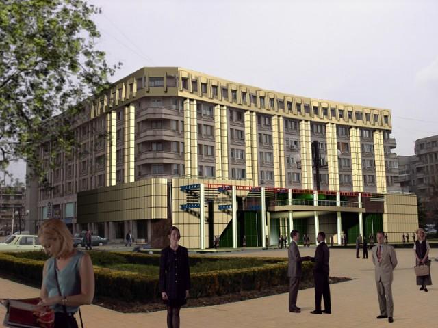 Amenajare complex comercial UNIREA, Ploiesti (propunere)  - Poza 1