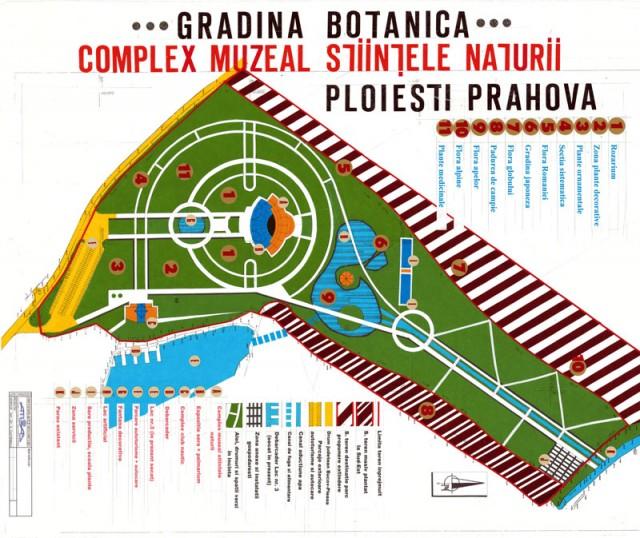 Amenajare Gradina Botanica, Ploiesti  - Poza 1