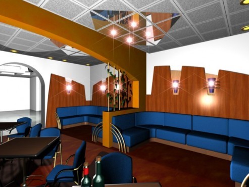 Lucrari, proiecte Amenajare interioara bar Picadilly  - Poza 1