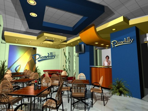 Lucrari, proiecte Amenajare interioara bar Picadilly  - Poza 2