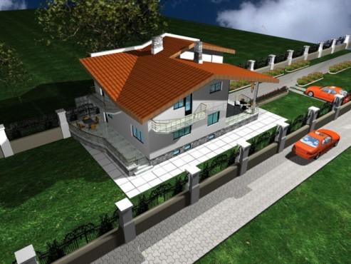 Lucrari, proiecte Locuinta unifamiliala, Crevedia  - Poza 4