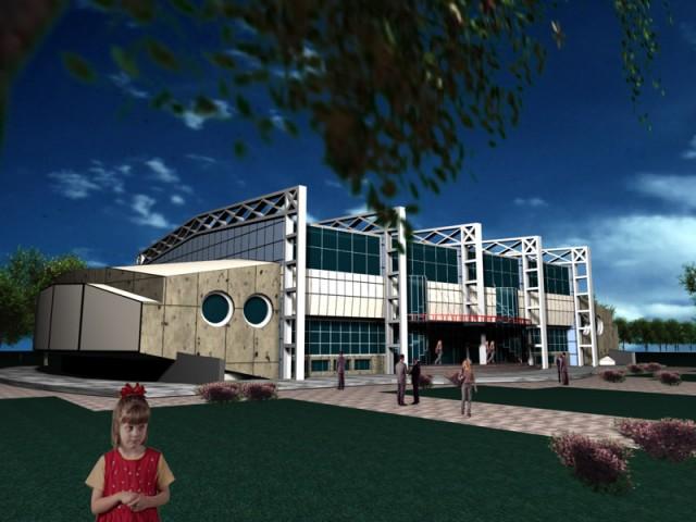 Sala de sport Mizil (propunere)  - Poza 1
