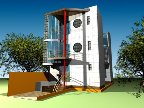 Lucrari, proiecte Spatii pentru firme P+2 (propunere)  - Poza 2