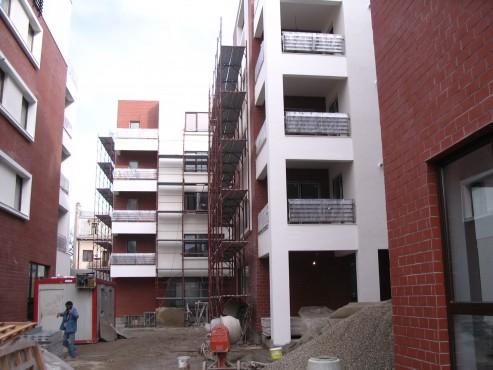 Lucrari, proiecte Ansamblu de locuinte in str. Popa Tatu, nr. 60-62, colaborare cu arh. Mihaela Hariton la fazele PAC si DDE  - Poza 19
