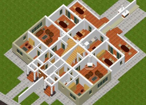 Lucrari, proiecte Doua locuinte cuplate P+2, Otopeni  - Poza 1