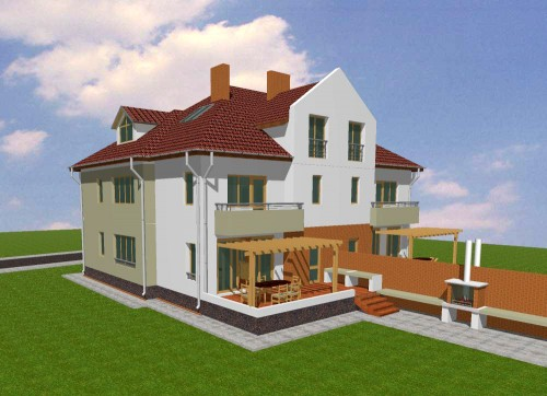 Lucrari, proiecte Doua locuinte cuplate P+2, Otopeni  - Poza 5
