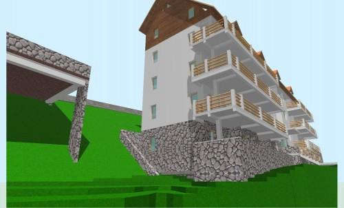 Lucrari, proiecte Locuinta colectiva, Predeal  - Poza 13