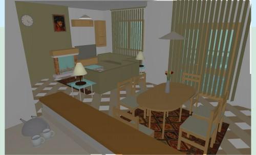 Lucrari, proiecte Locuinta colectiva, Predeal  - Poza 2