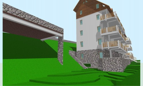 Lucrari, proiecte Locuinta colectiva, Predeal  - Poza 19