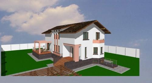 Lucrari, proiecte Locuinta D+P+M, zona Prelungirea Ghencea, strada Bulgarus  - Poza 3