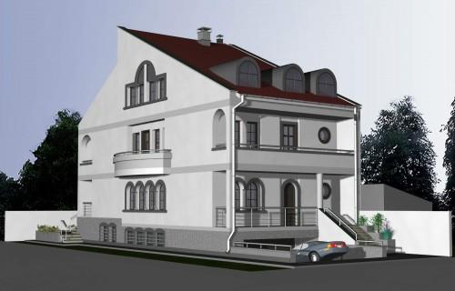 Lucrari, proiecte Locuinta unifamiliala D+P+1+M, sector 1 Bucuresti  - Poza 2