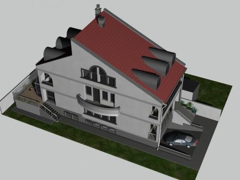 Lucrari, proiecte Locuinta unifamiliala D+P+1+M, sector 1 Bucuresti  - Poza 6