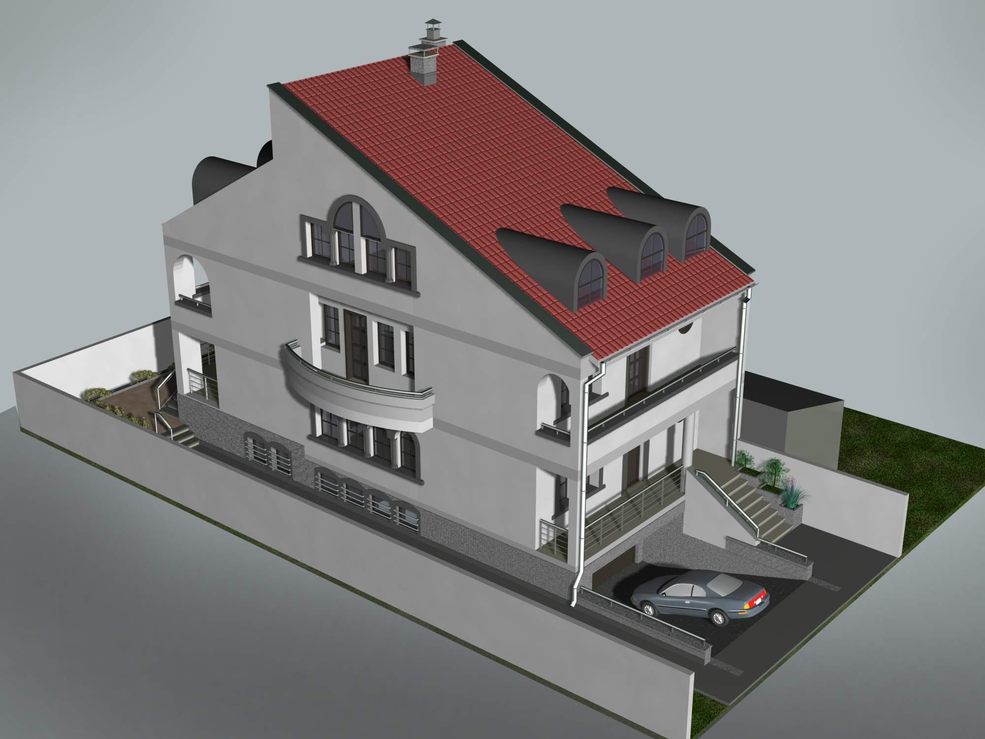 Locuinta unifamiliala D+P+1+M, sector 1 Bucuresti  - Poza 8