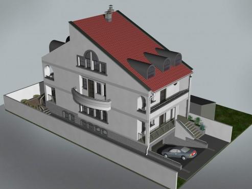 Lucrari, proiecte Locuinta unifamiliala D+P+1+M, sector 1 Bucuresti  - Poza 8