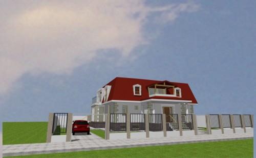 Lucrari, proiecte Locuinta unifamiliala P+M, sector 1 Bucuresti  - Poza 1