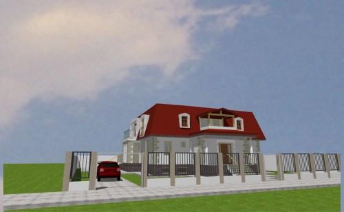 Lucrari, proiecte Locuinta unifamiliala P+M, sector 1 Bucuresti  - Poza 20
