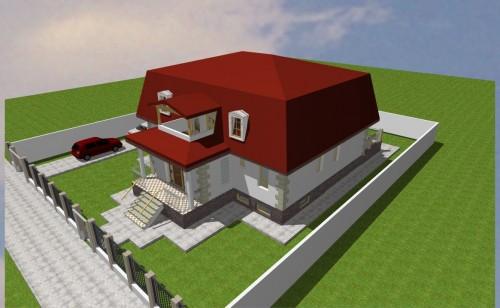 Lucrari, proiecte Locuinta unifamiliala P+M, sector 1 Bucuresti  - Poza 22