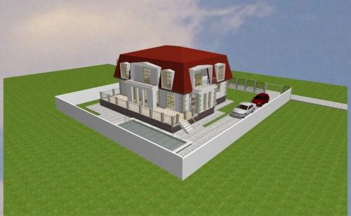 Lucrari, proiecte Locuinta unifamiliala P+M, sector 1 Bucuresti  - Poza 14