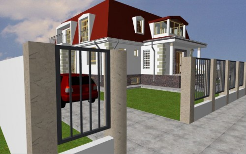 Lucrari, proiecte Locuinta unifamiliala P+M, sector 1 Bucuresti  - Poza 2