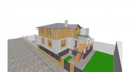 Lucrari, proiecte Locuinta unifamiliala P+M, sector 2 Bucuresti  - Poza 3