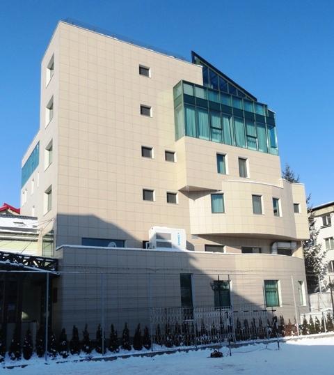 Sisteme de fixare si ancorare a fatadelor - Hotel BELVEDERE Botosani EUROFOX - Poza 2