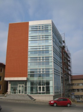 Lucrari, proiecte Sisteme de fixare si ancorare a fatadelor - Cladire birouri Pitesti EUROFOX - Poza 4