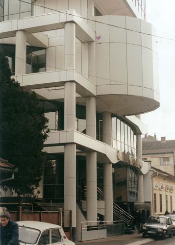 Sisteme de fixare si ancorare a fatadelor - Sedii Bancpost Cluj-Napoca si Craiova EUROFOX - Poza 2