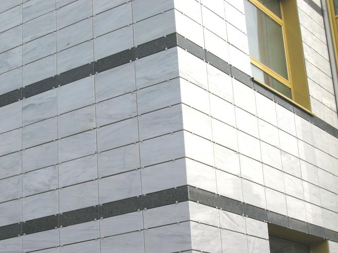 Sisteme de fixare si ancorare a fatadelor - Biblioteca Municipala Rm-Valcea EUROFOX - Poza 1