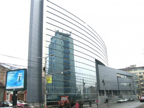 Lucrari, proiecte Sisteme de fixare si ancorare a fatadelor - Cladire birouri (anterior Banca Agricola) Cluj-Napoca EUROFOX - Poza 3