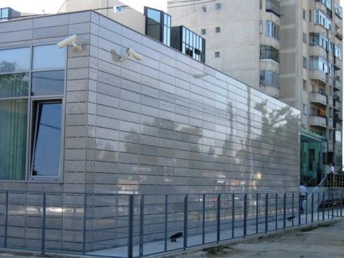 Lucrari, proiecte Sisteme de fixare si ancorare a fatadelor - Sediul ROMGAZ Ploiesti EUROFOX - Poza 1