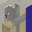 Sistem de fixare Placaje HPL - MLZk-v-00 HPL TRESPA - VIRTUON, METEON, ATHLON