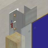 Sistem de fixare Placaje HPL - MTA-v-100 HPL TRESPA