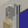 Sistem de fixare Placaje HPL - MTK-v-100 HPL TRESPA - VIRTUON, METEON, ATHLON