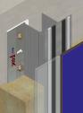 Sistem de fixare Placaje HPL - MTK-v-100 HPL