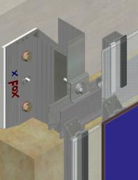 Sistem de fixare Placaje HPL - XLP-v-300 HPL