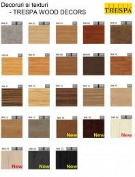 Gama de culori placaje HPL pentru exterior - WOOD DECORS
