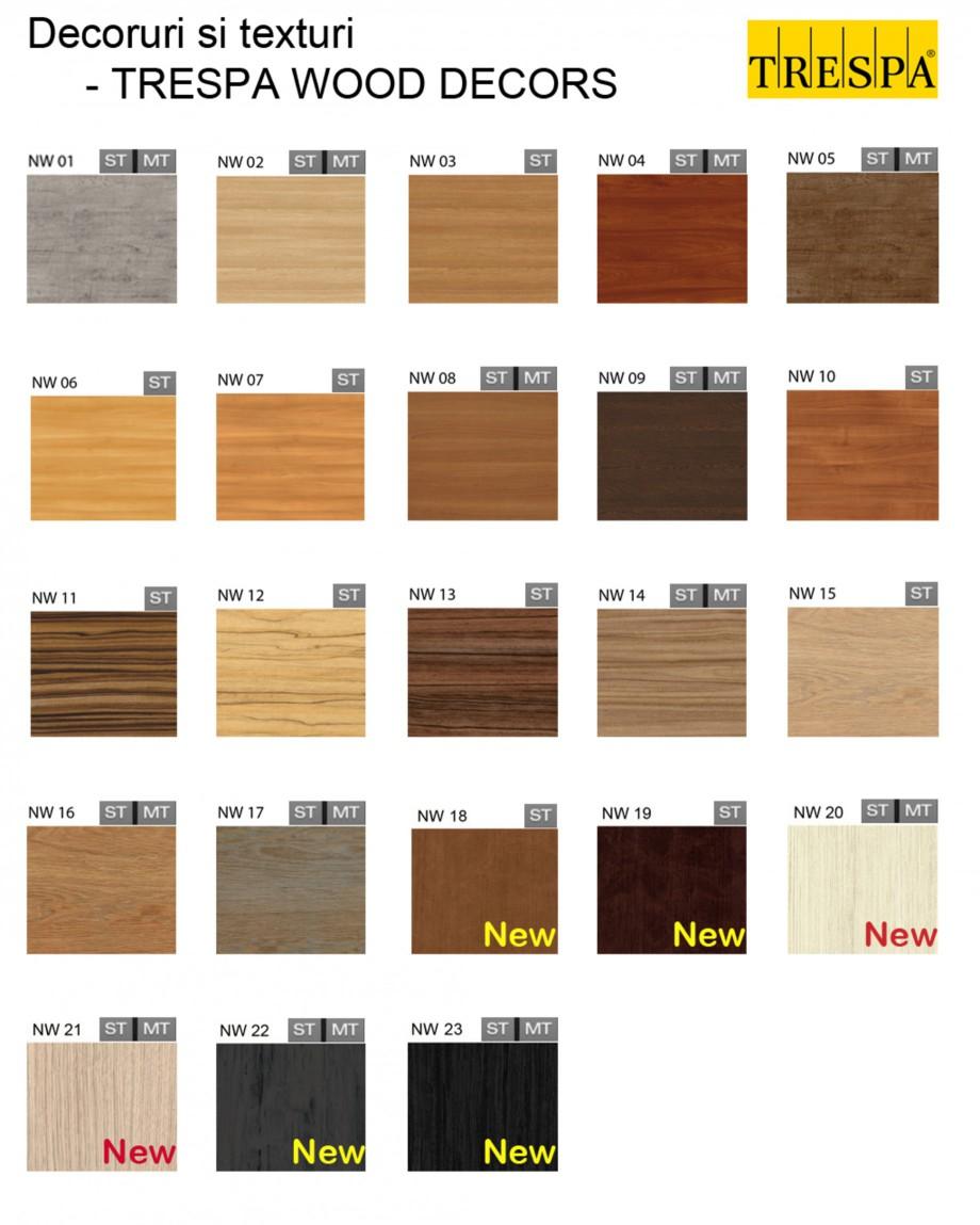 Pagina 1 - Gama de culori placaje HPL pentru exterior - WOOD DECORS TRESPA METEON Catalog, brosura...