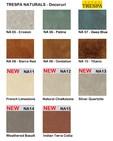 Gama de culori placaje HPL pentru exterior - NATURALS TRESPA - METEON