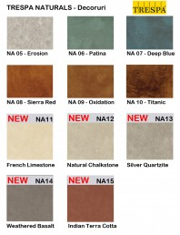 Gama de culori placaje HPL pentru exterior - NATURALS