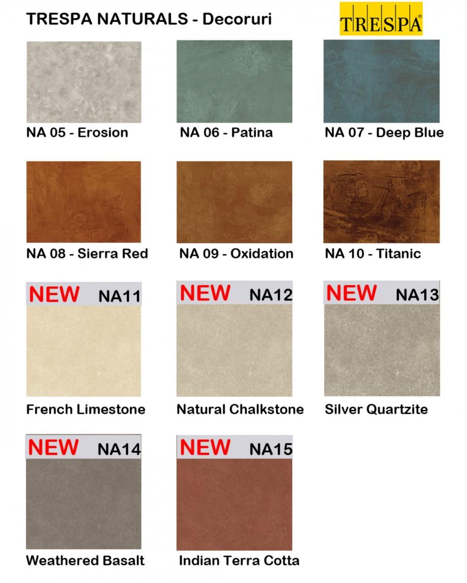 Pagina 1 - Gama de culori placaje HPL pentru exterior - NATURALS TRESPA METEON Catalog, brosura...