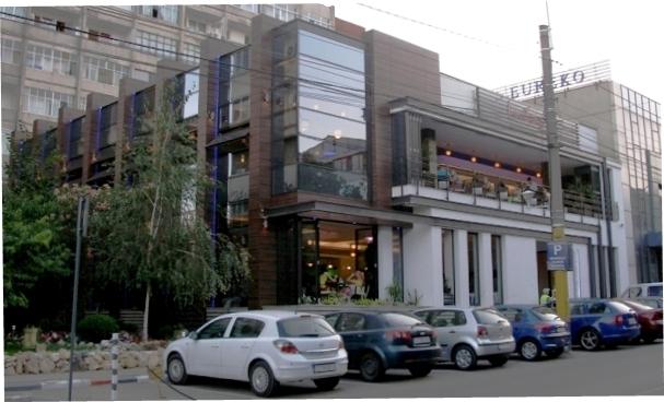 Placaje HPL pentru fatade si pereti - Restaurantul INTEGRA Constanta TRESPA - Poza 1