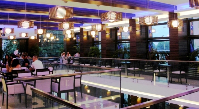 Placaje HPL pentru fatade si pereti - Restaurantul INTEGRA Constanta TRESPA - Poza 4