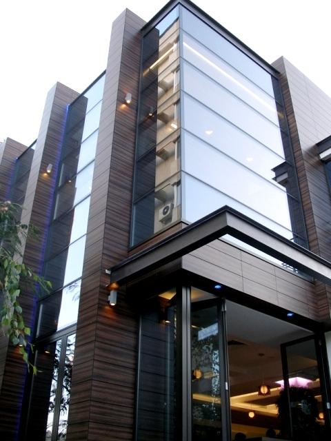 Placaje HPL pentru fatade si pereti - Restaurantul INTEGRA Constanta TRESPA - Poza 6