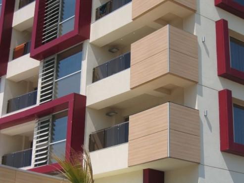Lucrari, proiecte Placaje HPL pentru fatade - Hotel VEGA Mamaia TRESPA - Poza 5